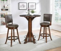 Rustic Brown Bar Stool