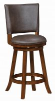 Rustic Brown Counter Stool