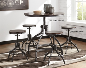 D284 Odium Adjustable Table
