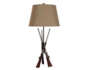 Rifle Table Lamp (2perbox)