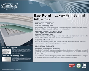 Baypoint Luxury Firm Summit PT